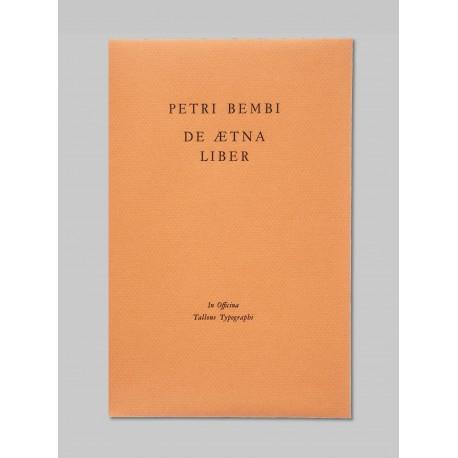 De Aetna Liber - Petri Bembi