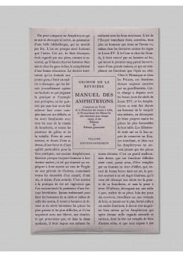 Manuel des Amphitryons - Grimod de la Reynière