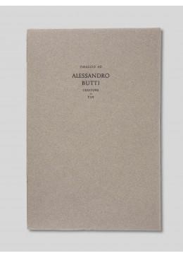 Omaggio ad Alessandro Butti creatore di tipi – Enrico Tallone