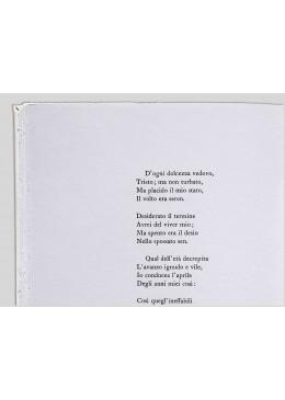 Venti poesie d'amore e una canzone disperata