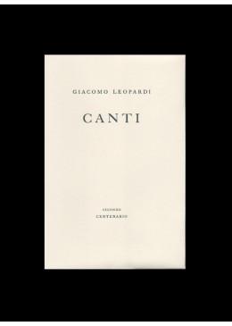 Canti di Giacomo Leopardi