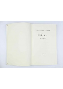 Adelchi - Alessandro Manzoni