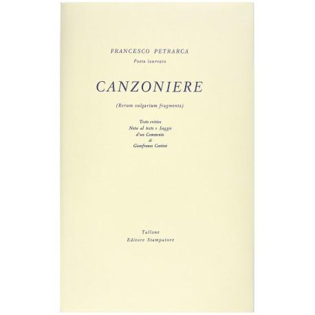 Canzoniere (Rerum Vulgarium Fragmenta) - Francesco Petrarca