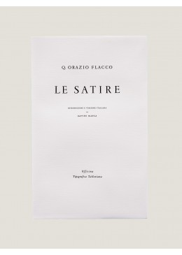 Le Satire - Orazio